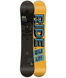 Ride Wild Life Wide Snowboard