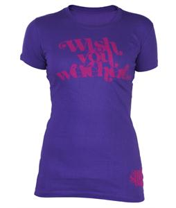 Ride Wishes T-Shirt Purple