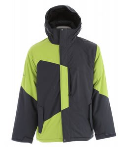 Ripzone Baracuda Snowboard Jacket Carbon/Lime