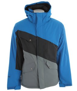 Ripzone Bender Snowboard Jacket Electric Blue/Carbon/Silverado