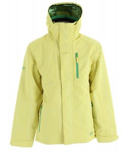 Ripzone Cyclone Snowboard Jacket Lemon