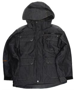 Ripzone Extortion Snowboard Jacket Black Denim