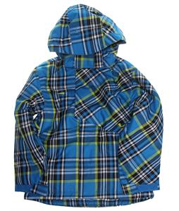 Ripzone Foreman Snowboard Jacket Electric Blue Plaid