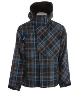 Ripzone Foreman Snowboard Jacket Black Plaid