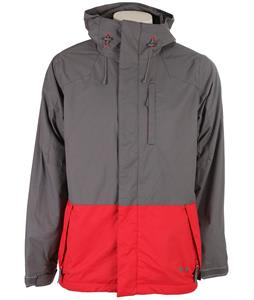 Ripzone Segement Snowboard Jacket Mineral/Chili Pepper