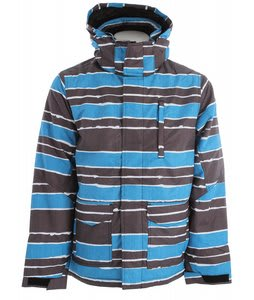 Ripzone Sentinel Snowboard Jacket Electric Blue Combo