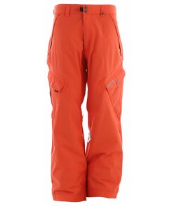 Ripzone Strobe Snowboard Pants Orange Soda