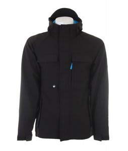 Ripzone Trilogy Softshell Snowboard Jacket Black