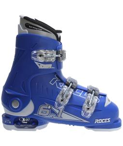 Roces Idea Ski Boots Royal Blue