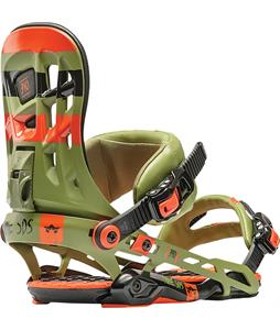 Rome 390 Snowboard Bindings Army