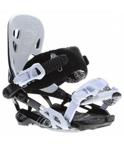 Rome 390 Snowboard Bindings White/Black