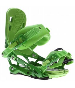 Rome 390 Boss Snowboard Bindings Green