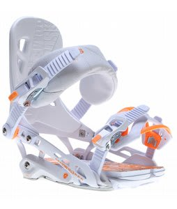 Rome 390 Boss Snowboard Bindings White