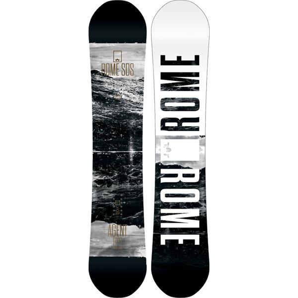 Rome Agent Midwide Snowboard