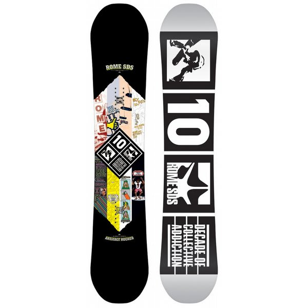 Rome Artifact Rocker X Snowboard