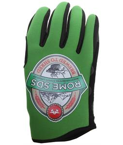 Rome Brew Gloves Green
