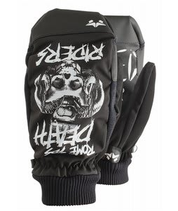 Rome Death Rider Mittens Black