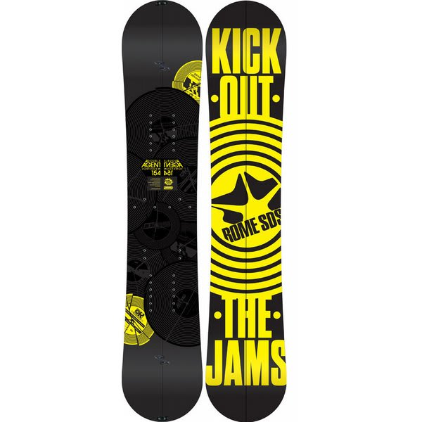 Rome Double Agent Snowboard