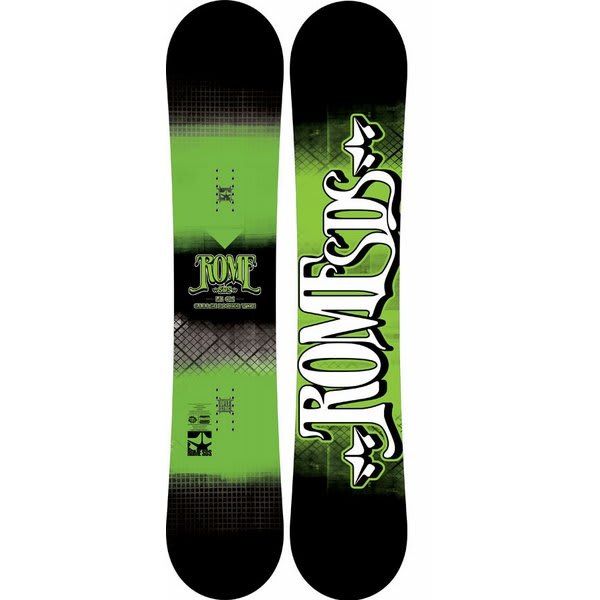 Rome Garage Rocker Wide Snowboard