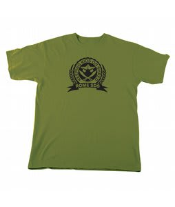 Rome Kids On Shred T-Shirt Army Green
