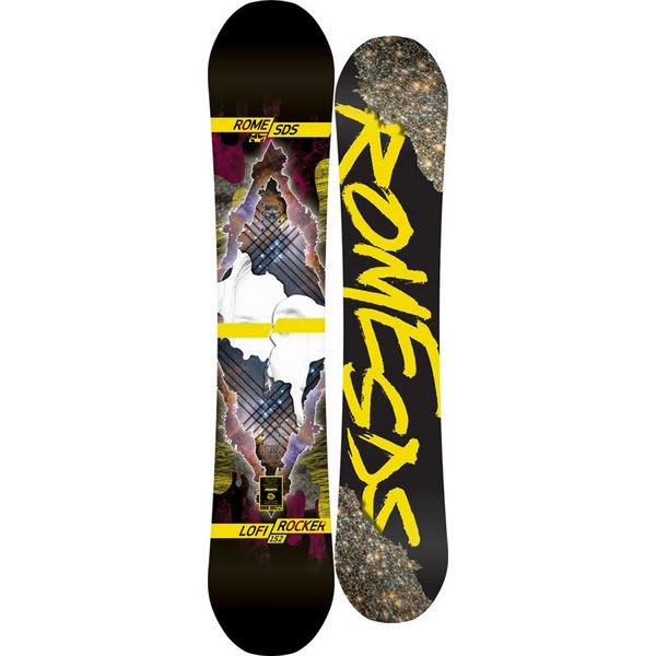 Rome Lo-Fi Rocker Snowboard