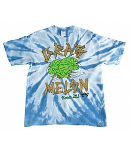 Rome Melon Grab T-Shirt Blue Tiedye