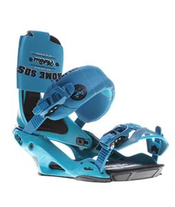 Rome Mob Boss Snowboard Bindings Blue