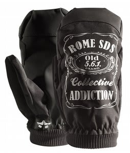 Rome Old No. 561 Mittens Black
