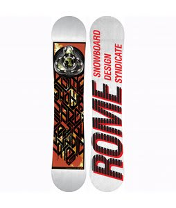 Rome Postermania Wide Snowboard 155