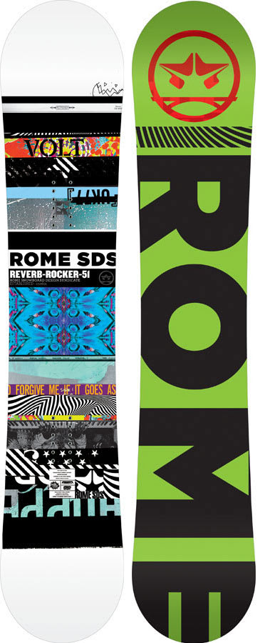 Shop for Rome Reverb Rocker Snowboard 151 - Men's