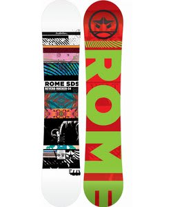 Rome Reverb Rocker Snowboard 154