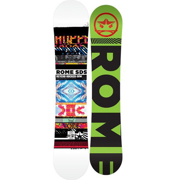 Rome Reverb Rocker Wide Snowboard