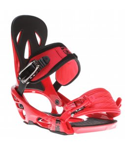 Rome Shift Snowboard Bindings Red