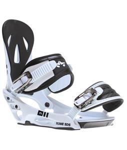 Rome Shift Snowboard Bindings White