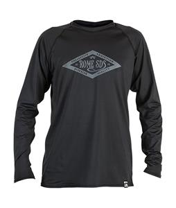 Rome Shred Baselayer Top Black