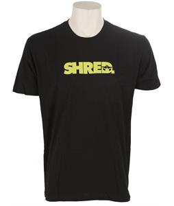 Rome Shred T-Shirt Black