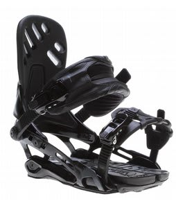 Rome Targa Snowboard Bindings Black