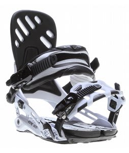 Rome Targa Snowboard Bindings White