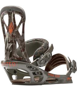 Rome United Snowboard Bindings Camo