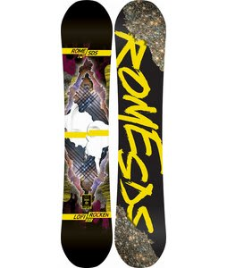 Rome Lo-Fi Rocker Mountain Pop Snowboard 152
