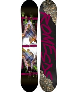 Rome Lo-Fi Rocker Mountain Pop Snowboard 154
