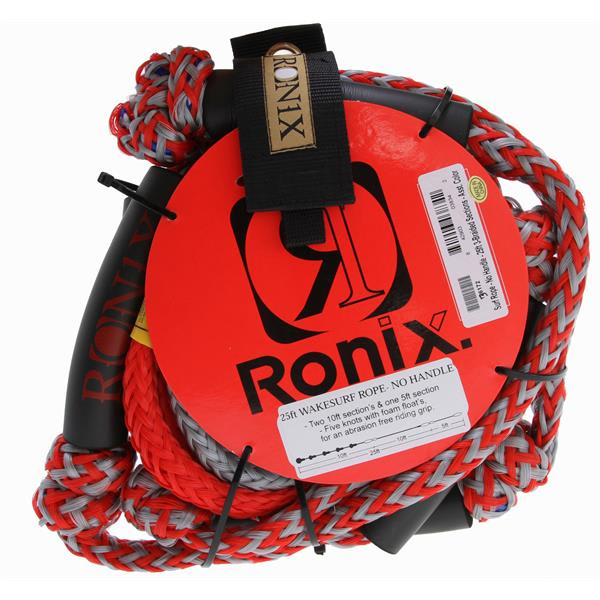 Ronix Surf Rope No Handle 25Ft Red