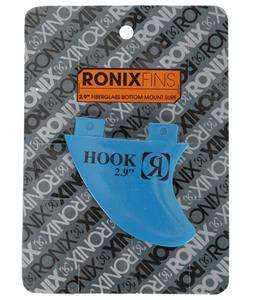 Ronix 2.9 Fiberglass Bottom Mount Hook Wakesurf Fin