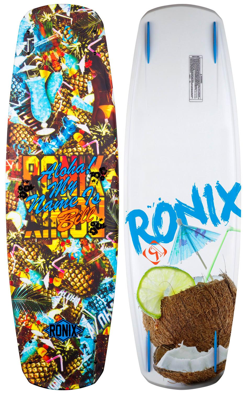 ... about Ronix Bill ATR Wakeboard Blue Hawaiian/Cocon ut Drink 140 Mens