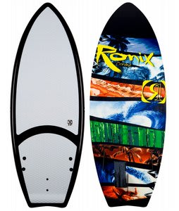 Ronix Cortez Wakesurfer Black/Green/Yellow/Blue 5ft 4in