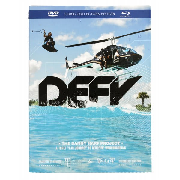 Ronix Defy The Danny Harf Project DVD/Blu-Ray Combo Pack