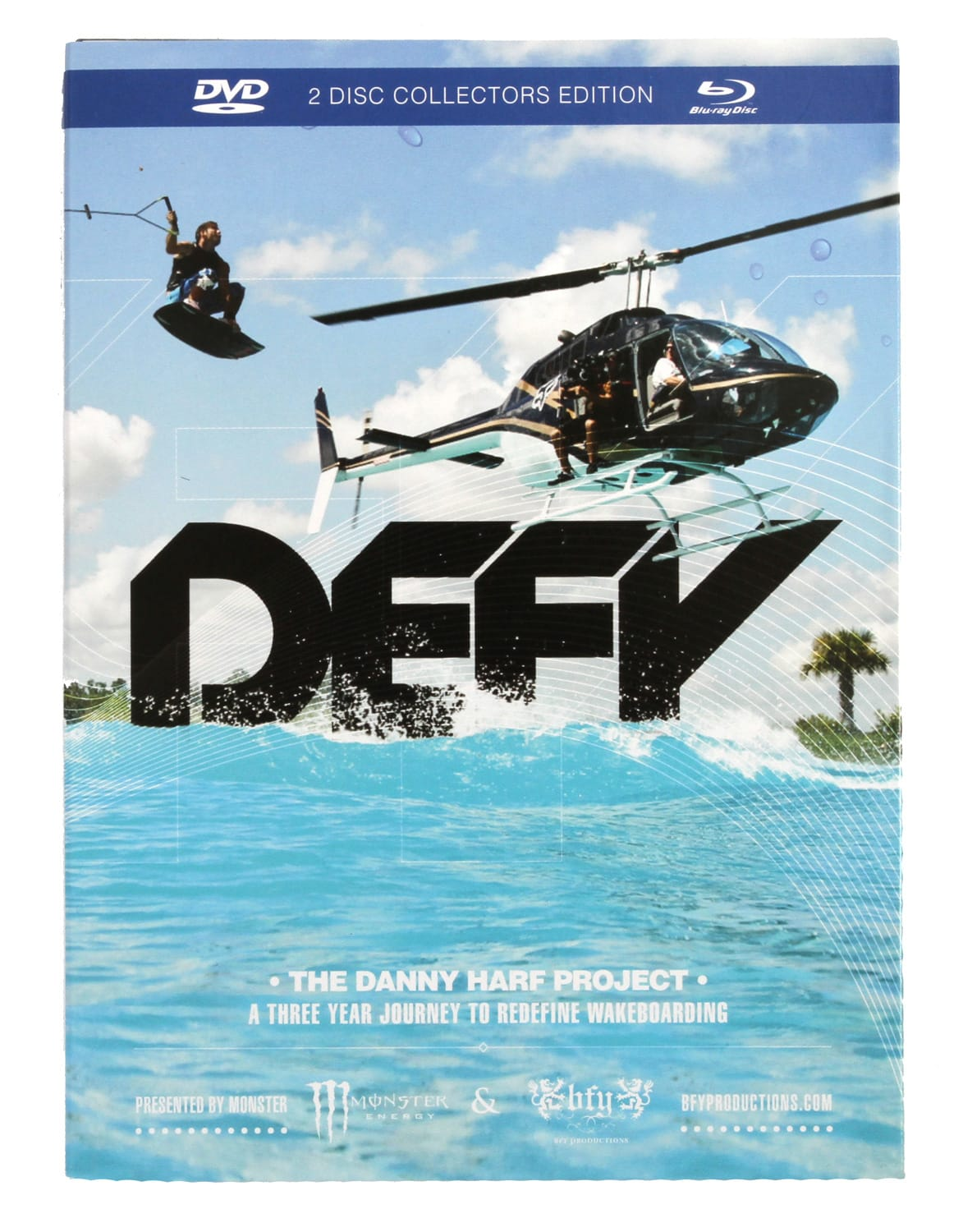 Ronix Defy The Danny Harf Project DVD/Blu-Ray Combo Pack virodtdhpc15zz-ronix-dvds