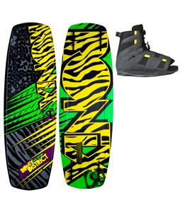 Ronix District Park Wakeboard 138 w/ District Boots