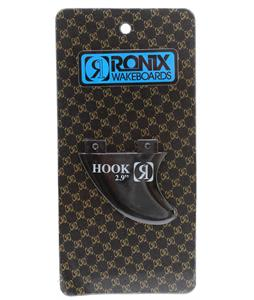 Ronix Fiberglass Bottom Mount Surf Fin Black 2.9In