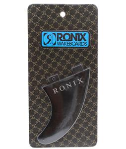 Ronix Fiberglass Bottom Mount Surf Fin Black 4.5In